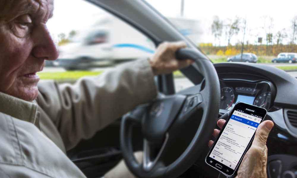 Driver Distraction Phone