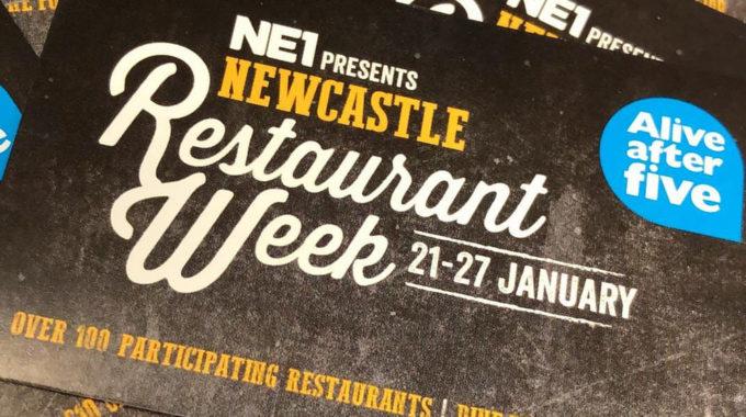Newcastle Restaurant Week tickets