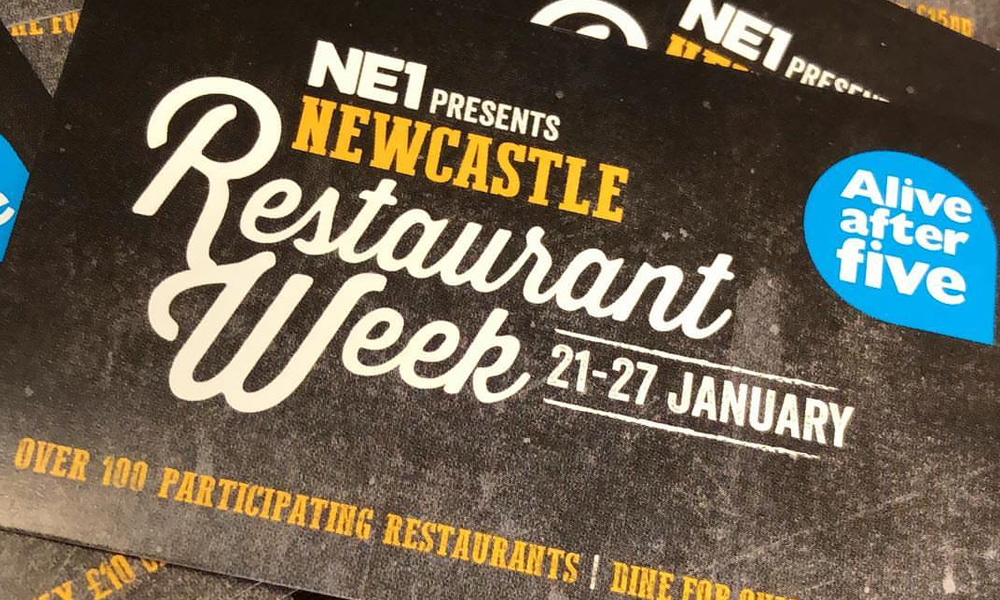 Newcastle Restaurant Week tickets