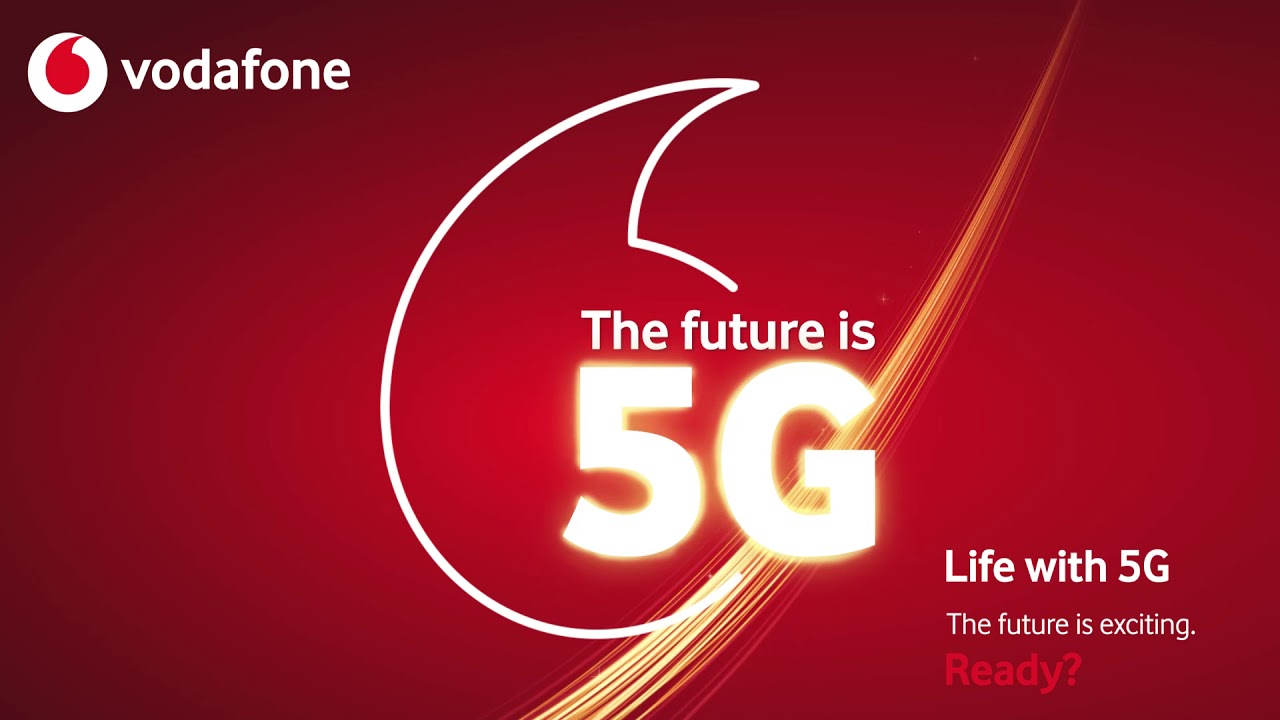 Vodafone switches on 5G network in seven UK cities