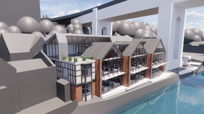 Site on Gateshead Quayside to Undergo Transformation