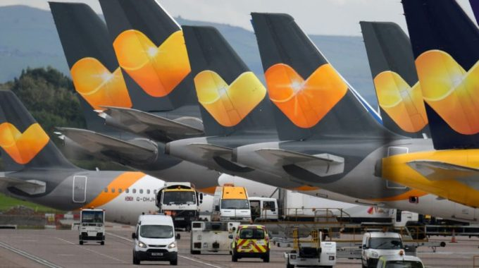 Thomas Cook ex-boss Grilled over £500,000 Bonus