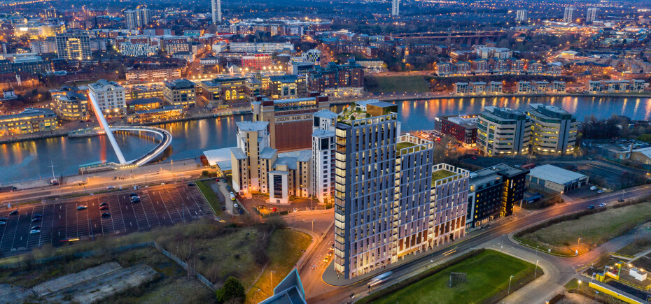 Gateshead Hotel & Residential Development gets Go-ahead