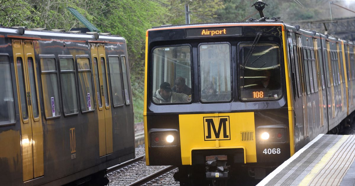Unreliable Tyne and Wear Metro Trains